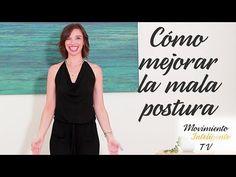 """Cómo """"enderezar"""" la espalda (reduciendo la """"joroba"""") - Movimiento Inteligente TV con Lea Kaufman - YouTube"""