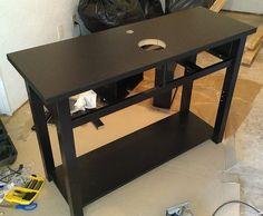 Norden Sideboard hacked into bathroom vanity - IKEA Hackers - IKEA Hackers