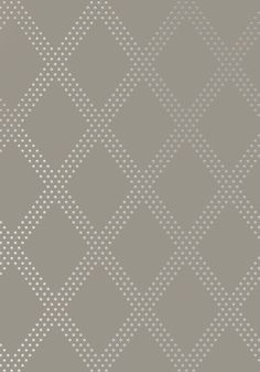 Dining Room BRAD, Silver on Charcoal, T11039, Collection Geometric Resource 2 from Thibaut