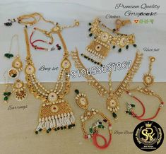 """bridal chuda kaleera chura on Instagram: """"Direct Massage for detail and prize only whatsapp or inbox +919653631867 $$$$$$$$$$$$$$$$$$$$$$$$$$ srk bridal chura manufacturer and…"""" Bridal Jewelry Sets, Bridal Necklace, Bridal Sets, Ring Necklace, Earrings, Bridal Jewellery, Punjabi Traditional Jewellery, Bridal Chuda, Kundan Set"""