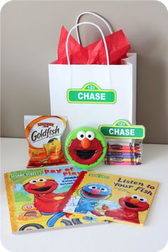 Set of 6 Elmo Buckets / Party Favor / Goodie by PartiesandGoodies ...