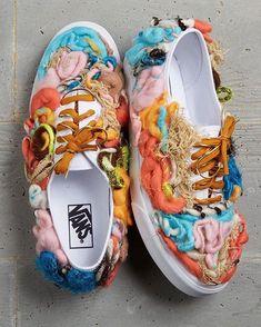 Shoes by 2018 Vans Custom Culture Ambassador, Erin Barrett.