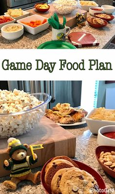 Simple ways to make your Game Day Party festive and delicious! Healthy Superbowl Snacks, Game Day Snacks, Game Day Food, Easy Snacks, Yummy Snacks, Easy Meals, Easy Appetizer Recipes, Appetizers For Party, Snack Recipes