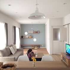nice homes interior Living Room Interior, Home Living Room, Living Room Designs, Japanese Home Decor, Japanese Interior, Maison Muji, Muji Haus, Style At Home, Small Space Interior Design