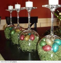 Below are the Easter Centerpieces Table Decor Ideas. This article about Easter Centerpieces Table Decor Ideas was posted under the … Easter Projects, Easter Crafts, Holiday Crafts, Easter Ideas, Bunny Crafts, Egg Crafts, Hoppy Easter, Easter Eggs, Easter Bunny