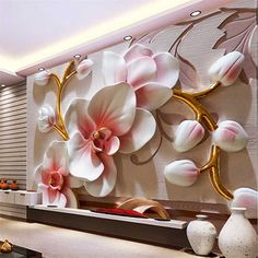 wallpaper murals custom living room bedroom home decor butterfly orchid relief floral decorative painting murals Murals Wallpaper Custom Living Room Bedroom Home Decor Etsy 3d Wallpaper Decor, 3d Wallpaper Painting, 3d Wallpaper Living Room, 3d Wallpaper For Walls, Living Room Murals, Photo Wallpaper, 3d Wallpaper Design, Bedroom Murals, Living Room Bedroom