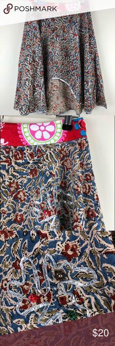 J Crew Womens Mini Skirt Sz 00 Seahorses White Navy Pockets Euc Ln Orig $68