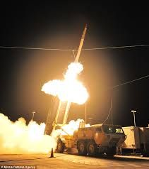 The Terminal High Altitude Area Defense (THAAD) is a state-of-the-art pure anti-ballistic missile system designed to provide mobile ballistic missile theater defense against short and intermediate range ballistic missiles.Google Search