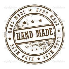 Stamp Hand Made — Stock Vector © _fla # Stencil Diy, Stencils, Sewing Machine Repair, Eraser Stamp, Foto Transfer, Antique Sewing Machines, Decoupage Vintage, Custom Stamps, Digital Stamps