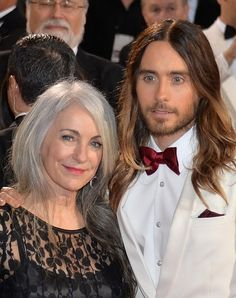 Jared Leto's mom, Constance Leto | 6 Moms Who Totally Stole The Show At The Oscars - His Oscar speech made me cry. :)