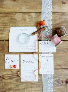 Elegant Wedding Invitations. #brideside #wedding #invitations #elegant