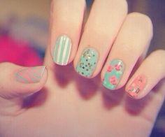 floral nail