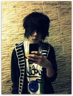 Emo boy cute scene guy
