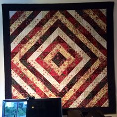 Viennese Promenade Wall Hanging - my first quilt
