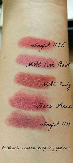 Class Supplies: Inglot Matte Lipstick
