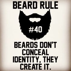 "Beard rule no. 40: ""Beards don't conceal identity they create it."" True. Have a bearded day! #beard #beards #bearded #beardman #fullbeard #men #beardlife #beardgang #tuesday #beardedman #life #instapic #picoftheday #beardsofinstagram #2016 #picture #fun #quote #fitfamdk #fitness #bodybuilding #cycling #crossfit #endurance #boxing #running #mma #beardgrowth #beardrules #amazing by the_beard_journey"