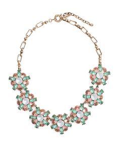 The Toss Necklace by JewelMint.com #bling #bouquet #necklace