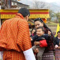 February Queen Jetsun Pema Gave Birth To A Son Royal - The most eco friendly country in the world just planted 108000 trees to celebrate a new royal arrival