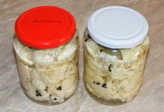 Pickled Cauliflower - Conopida murata - www. Pickled Cauliflower, Good To Know, Pickles, Diy And Crafts, Mason Jars, Canning, Recipes, Food, Drinks