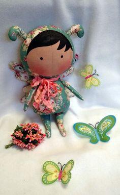 Nueva colección de la muñeca Tilda hecha a mano muñeca