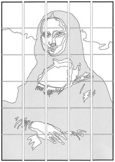 Mona Lisa Diagram | Art Projects for Kids