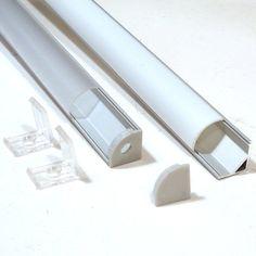 Corner Aluminium Extrusion For LED Strip - Click Image to Close