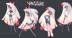 Vivziepop Vaggie ref sheet