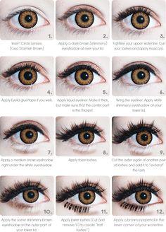 Eyes gyaru