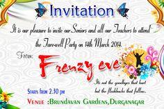 8 Best Farewell Invitation Images Farewell Invitation Farewell