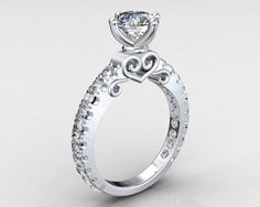 cool Sterling silver 925 kt with white Rhodium plated by PiettroJewelry...