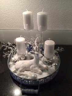 In this DIY tutorial, we will show you how to make Christmas decorations for your home. The video consists of 23 Christmas craft ideas. Silver Christmas Decorations, Christmas Tablescapes, Christmas Centerpieces, Christmas Night, Christmas Holidays, Christmas Wreaths, Christmas Crafts, Christmas Christmas, Christmas Ideas