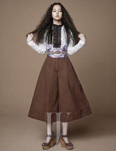 Wonder Girls Sohee W Korea April 2013 Look 2