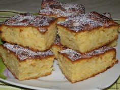 Пирог для лентяек или занятых хозяюшек