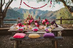 Bohemian Gypset Wedding Inspiration | Green Wedding Shoes Wedding Blog | Wedding Trends for Stylish + Creative Brides