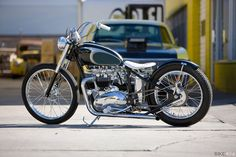 1964 Triumph Custom Custom Moped, Custom Choppers, Custom Motorcycles, Custom Bikes, Triumph Bobber Custom, Triumph 650, Triumph Motorbikes, Triumph Motorcycles, Triumph Bonneville