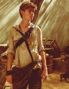Thomas Brodie-Sangster as Newt in The Maze Runner