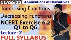 #ApplicationsOfDerivatives #Class12Maths #CBSEClass12Maths #NCERTSolutions #AshishKumar #Mathyug Cbse Class 12 Maths, 12th Maths, Home Learning, Self Development, Mathematics, Homeschool, Student, Exercise, Education