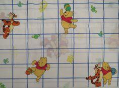 Vintage Winnie the Pooh Valance