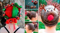 Christmas Hairstyle Ideas Creative and Unique Styles holiday ... DIY daughter hair ideas creative hair styles christmas tree hair christmas hairstyle christmas hair christmas braided hair braid hairstyles   Christmas Hairstyle Ideas Creative and Unique Styles holiday ... DIY daughter hair ideas creative hair styles christmas tree hair christmas hairstyle christmas hair christmas braided hair braid hairstyles   Christmas Hairstyle Ideas Creative and Unique Styles holiday ... DIY daughter hair…