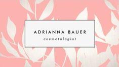 Stylish Cosmetologist Blush Pink Leaves Pattern Beauty Spa Standard Business Cards http://www.zazzle.com/stylish_blush_pink_leaves_pattern_beauty_spa_business_card-240338877532692017?rf=238835258815790439&tc=GBCCosmetology2Pin