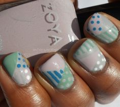 Haute Lacquer: A Twist on The Patchwork