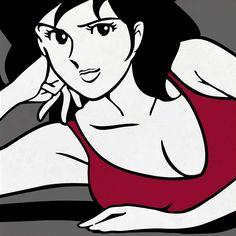 Del Conca: Ceramiche Lupin III Lupin The Third, Soft Power, Bd Comics, Old Cartoons, Art Girl, Manga Anime, Samurai, Disney Characters, Fictional Characters