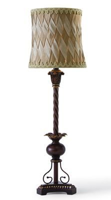 Vintage Table Lamp W/ Crossover Design Shade  In Our Catalog: Madelyn Table Lamp  Availability: In Stock  Item #25227  $34.99 $20.97 You Save Up to 40%