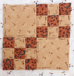 English paper piecing a copy of the Dear Jane Quilt - on the Fabadashery blog.