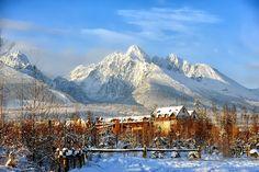 Tatra Mountains in Slovakia. Winter Landscape, Mountain Landscape, Snow Photography, Landscape Photography, Beautiful Sites, Beautiful Places, Tatra Mountains, World 7, Heart Of Europe