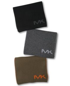 Michael Kors Scarf Wool Monogram   Neckwear and Accessory
