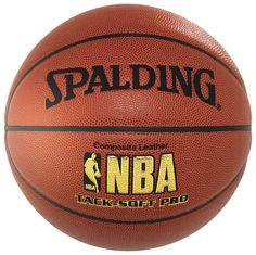 NBA Tack-Soft Pro (64-616Z) Basketball    Offizieller Allround-Ball / Exzellenter Grip und sehr gute Ballkontrolle / Top-Handling durch hochwertige Oberfläche    Geschlecht: Unisex  Material: Composite Leder  Sportart: Basketball...