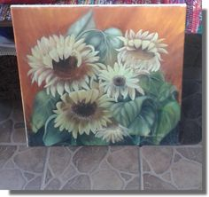 Sunflowers - Ruďa - august 2016 Sunflowers, Painting, Art, Art Background, Painting Art, Kunst, Paintings, Performing Arts, Painted Canvas