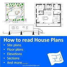how to read house plans introduction Blueprint Symbols, Floor Plan Symbols, Title Block, Free Floor Plans, Study Site, Electrical Plan, Roof Lines, Roof Plan, Site Plans