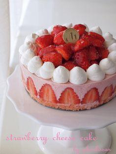 Strawberry Rare Cheese Cake